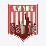 NYC design Royalty Free Stock Images