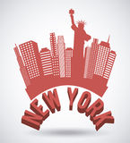 NYC design Royalty Free Stock Photography
