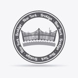 NYC design Royalty Free Stock Photos