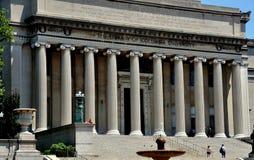 NYC: Die Bibliothek der Universität von Columbia Stockbild