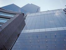 NYC die - omhoog eruit zien Stock Foto's