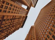 NYC die - omhoog eruit zien Royalty-vrije Stock Foto