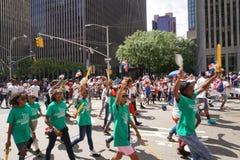 2015 NYC Dominicaanse Dagparade 30 Stock Fotografie