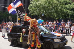 The 2015 NYC Dominican Day Parade 22 Stock Image