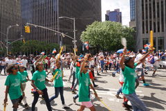 The 2015 NYC Dominican Day Parade 30 Stock Photography