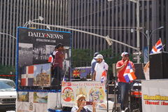 The 2015 NYC Dominican Day Parade 34 Stock Photography