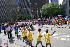 The 2015 NYC Dominican Day Parade 35 Royalty Free Stock Photo