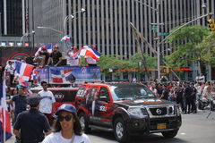 The 2015 NYC Dominican Day Parade 47 Royalty Free Stock Photography