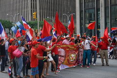 The 2015 NYC Dominican Day Parade 70 Stock Photography