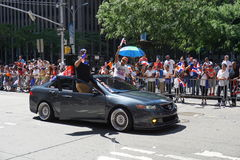 The 2015 NYC Dominican Day Parade 14 Stock Image