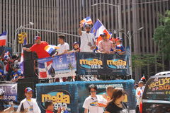 The 2015 NYC Dominican Day Parade 48 Royalty Free Stock Photos