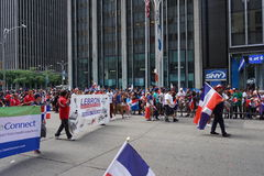 The 2015 NYC Dominican Day Parade 52 Royalty Free Stock Image