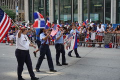 The 2015 NYC Dominican Day Parade 76 Royalty Free Stock Photo