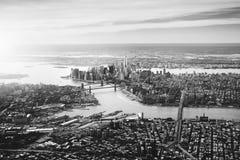 NYC dramático Imagen de archivo