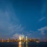 NYC durante 4o julho Fotografia de Stock