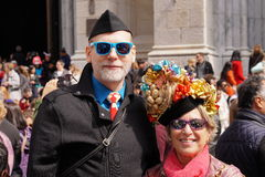 The 2015 NYC Easter Parade 107 Royalty Free Stock Photography