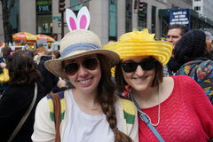 The 2015 NYC Easter Parade 85. The Easter parade is an American cultural event consisting of a festive strolling procession on Easter Sunday. Typically, it is a stock image