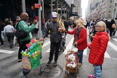 The 2015 NYC Easter Parade & Bonnet Festival 76 Royalty Free Stock Photos