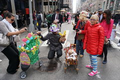 The 2015 NYC Easter Parade & Bonnet Festival 69 Royalty Free Stock Image