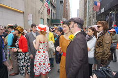 The 2015 NYC Easter Parade & Bonnet Festival 61 Royalty Free Stock Image