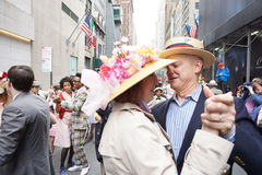 The 2015 NYC Easter Parade & Bonnet Festival 57 Royalty Free Stock Photo