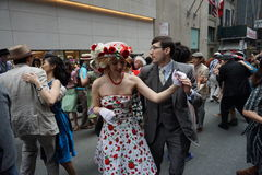 The 2015 NYC Easter Parade & Bonnet Festival 41 Royalty Free Stock Photos