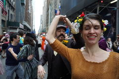 The 2015 NYC Easter Parade & Bonnet Festival 35 Royalty Free Stock Photos