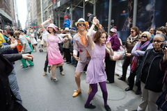 The 2015 NYC Easter Parade & Bonnet Festival 2 Stock Image