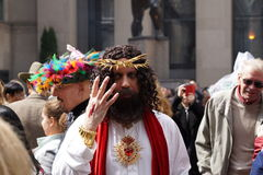 The 2015 NYC Easter Parade & Bonnet Festival 11 Stock Photo