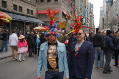 The 2015 NYC Easter Parade & Bonnet Festival 20 Royalty Free Stock Photo