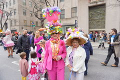 The 2015 NYC Easter Parade & Bonnet Festival 23 Royalty Free Stock Photo