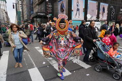 The 2015 NYC Easter Parade & Bonnet Festival 24 Stock Image