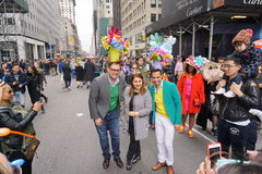 The 2015 NYC Easter Parade & Bonnet Festival 25 Royalty Free Stock Photo