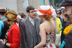 The 2015 NYC Easter Parade & Bonnet Festival 28 Stock Photo