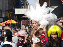 The 2016 NYC Easter Parade And Bonnet Festival 71 Stock Images