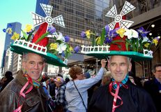 NYC: Easter Parade on Fifth Avenue Stock Photo