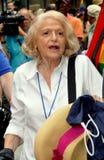NYC:  Edie Windsor a 2013 Pride Parade gay Fotografie Stock Libere da Diritti