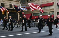 NYC ehrt Veteranen-Tag Stockbild
