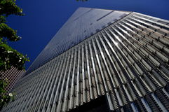 NYC: Ein World Trade Center-Kontrollturm Stockbild
