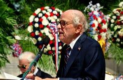 NYC: El Dr. George Chall en 2013 ceremonias del Memorial Day Imagenes de archivo
