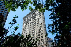 NYC: El edificio de Flatiron Fotografía de archivo libre de regalías