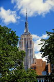 NYC:  Empire State Building Royalty Free Stock Photos