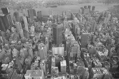 NYC en noir et blanc Images stock