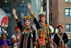 NYC: Entertainers at Taiwanese Festival Royalty Free Stock Image