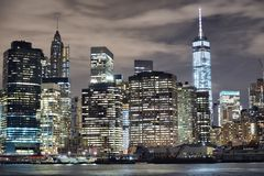 NYC et Freedom Tower Photographie stock