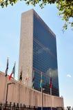 NYC: Förenta NationernaSecreteriat torn Royaltyfri Bild