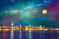 NYC-fantasi Royaltyfri Fotografi