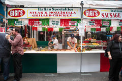 NYC Feast of San Gennaro Royalty Free Stock Image