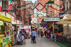 NYC Feast of San Gennaro Stock Images