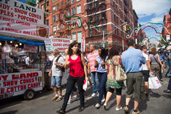 NYC Feast of San Gennaro Royalty Free Stock Photography
